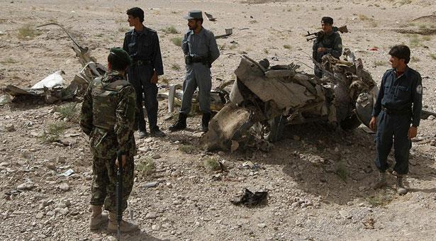 আফগানিস্তানে বিমান হামলা